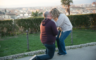 Surprise Proposal in Florence, Italy | Destination photographer in Italy