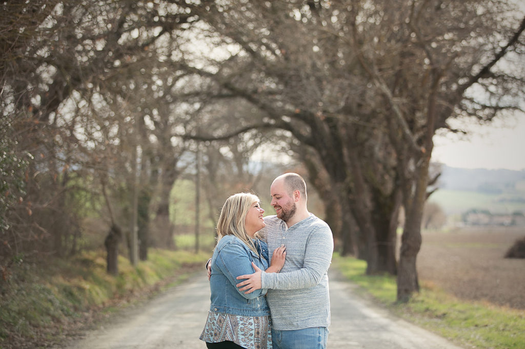 Tuscany destination engagement photographer