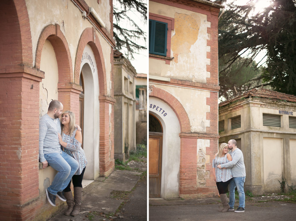 Tuscany destination engagement photographer, michigan wedding photographer