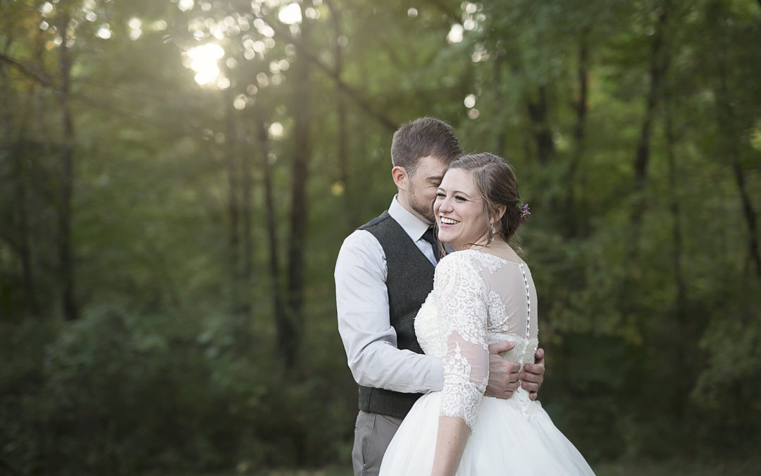 Meghan & Thomas | Woodland fairytale wedding | Jackson, MI