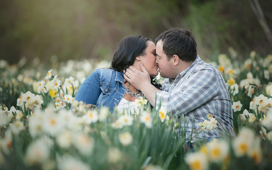 Mark & Marina | Jackson, Michigan Engagement Session