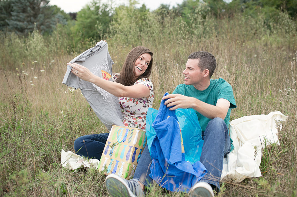 Jackson Michigan engagement photographer