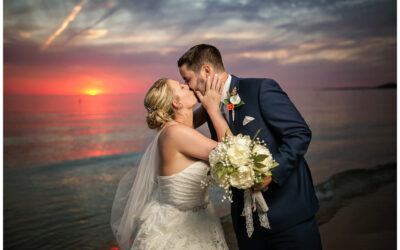 Pentwater Village Wedding by Lake Michigan, MI | Jake & Mallory |