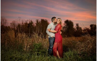 Amber + Dusty | Jackson, Michigan Engagement Photographer